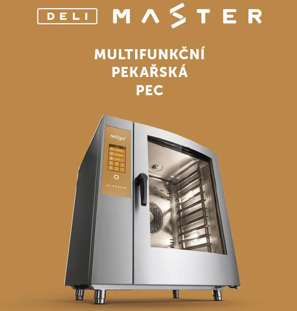 Multifunkčné pekárske pece DELIMASTER